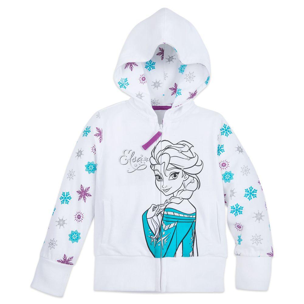 Elsa Zip Hoodie for Girls