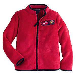 Lightning McQueen Fleece Jacket for Boys - Personalizable