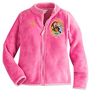 Disney Princess Fleece Jacket for Girls - Personalizable