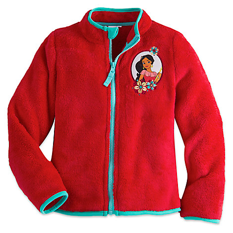 Elena of Avalor Fleece Jacket for Girls - Personalizable
