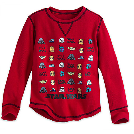 Star Wars Long Sleeve Thermal Tee for Boys