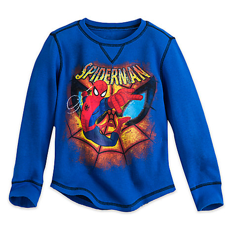Spider-Man Long Sleeve Thermal Tee for Boys
