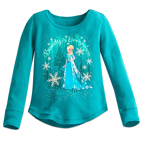 Elsa Thermal Tee for Girls