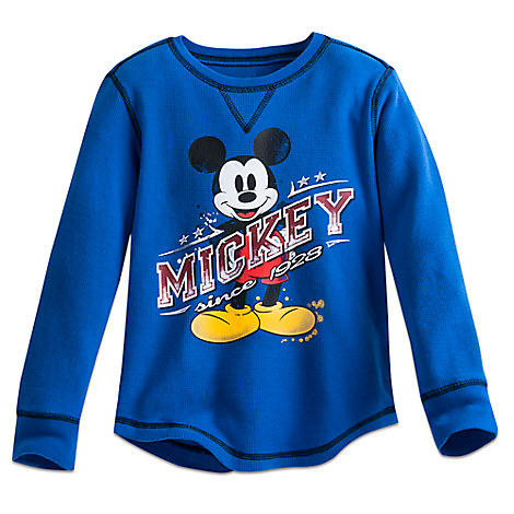 Mickey Mouse Classic Thermal Tee for Boys