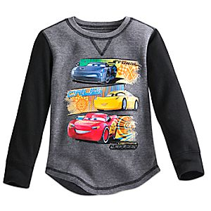 Cars 3 Thermal Tee for Boys