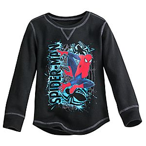 Spider-Man Thermal Tee for Boys