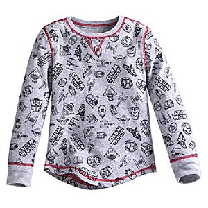 Star Wars Thermal Tee for Boys