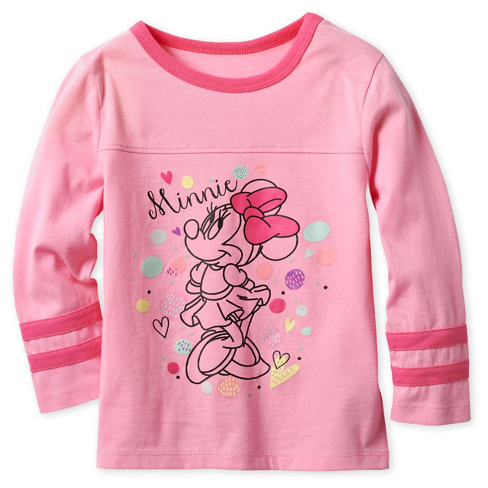 Minnie Mouse Long Sleeve T-Shirt for Girls Official shopDisney