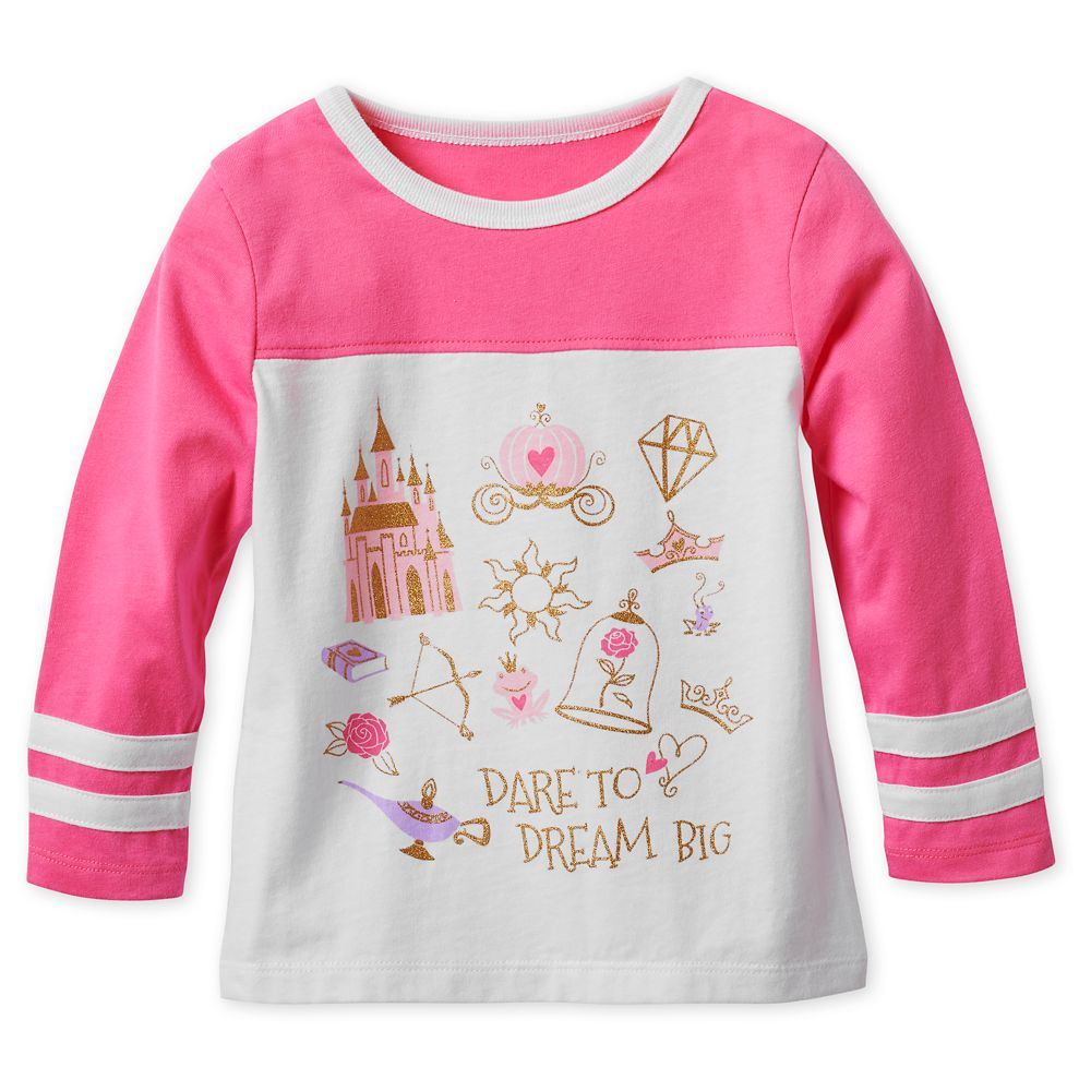 Disney Princess Icons Long Sleeve T-Shirt for Girls