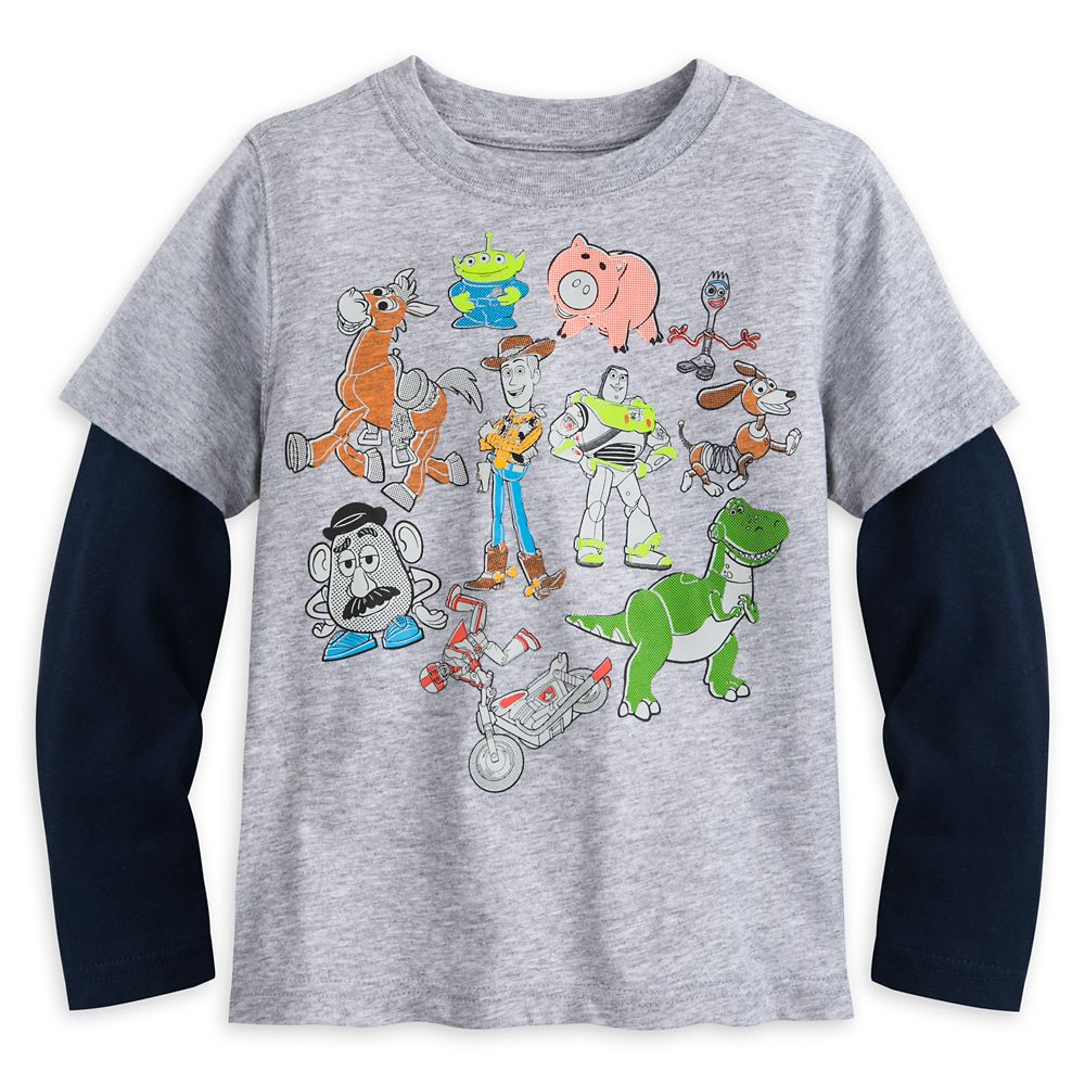 Toy Story 4 Layered T-Shirt for Kids
