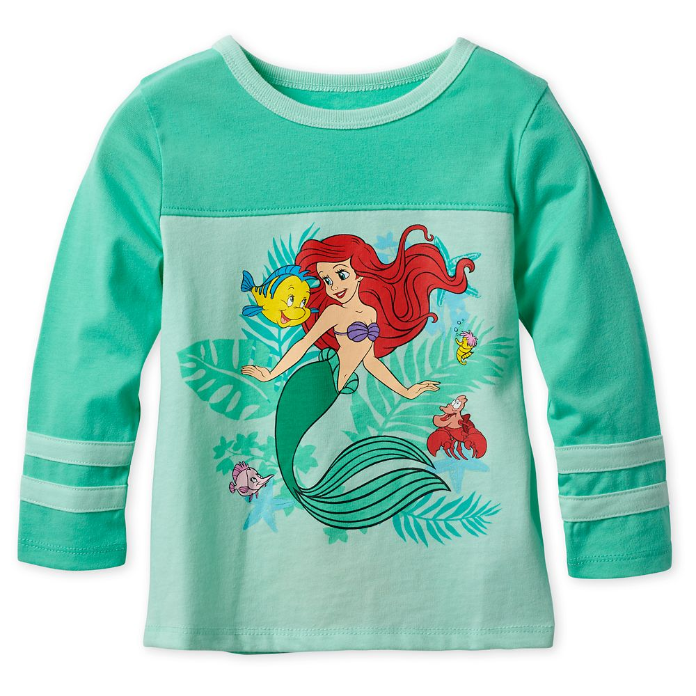 Ariel Long Sleeve T-Shirt for Girls
