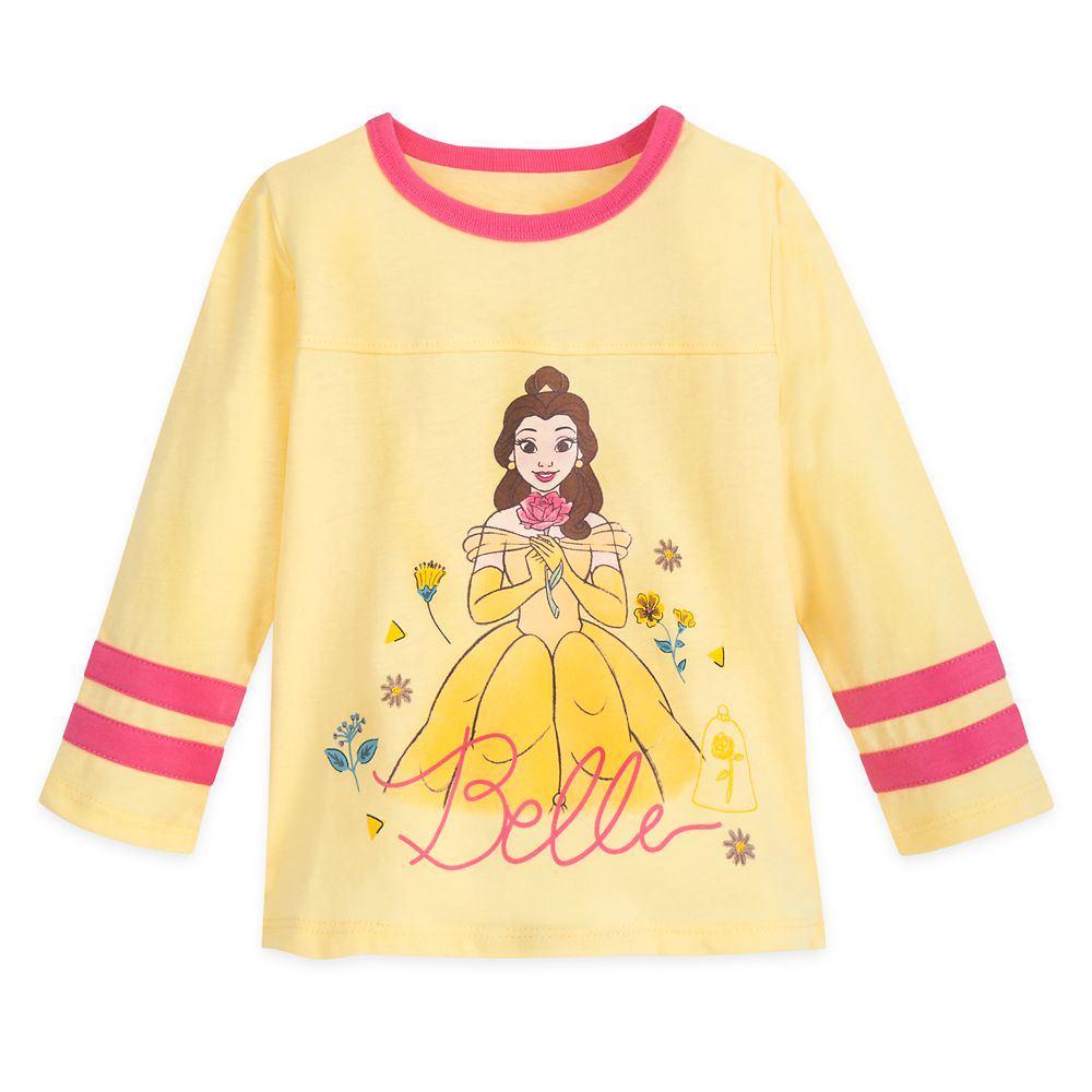 Belle Football T-Shirt for Girls – Beauty and the Beast