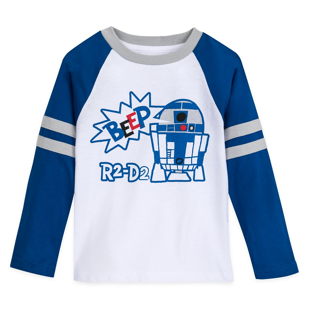 R2-D2 Long Sleeve Baseball T-Shirt for Boys – Star Wars
