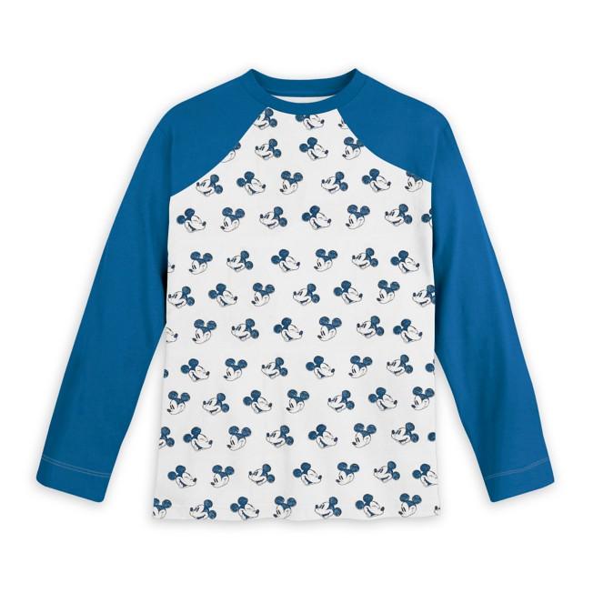 Mickey Mouse Long Sleeve Baseball T-Shirt for Kids