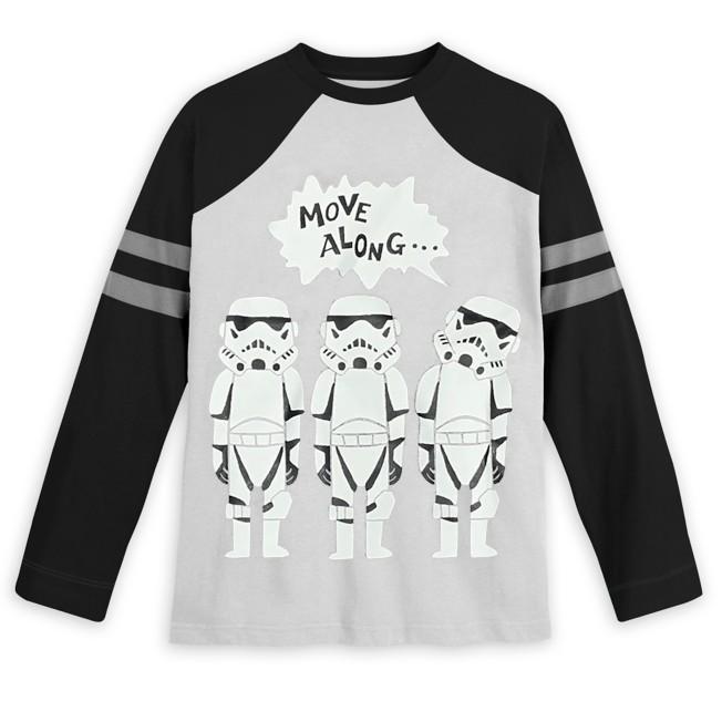 Stormtroopers Long Sleeve Baseball T-Shirt for Kids – Star Wars