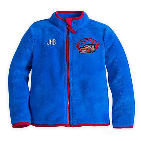 Lightning McQueen Fleece Jacket for Boys - Personalizable