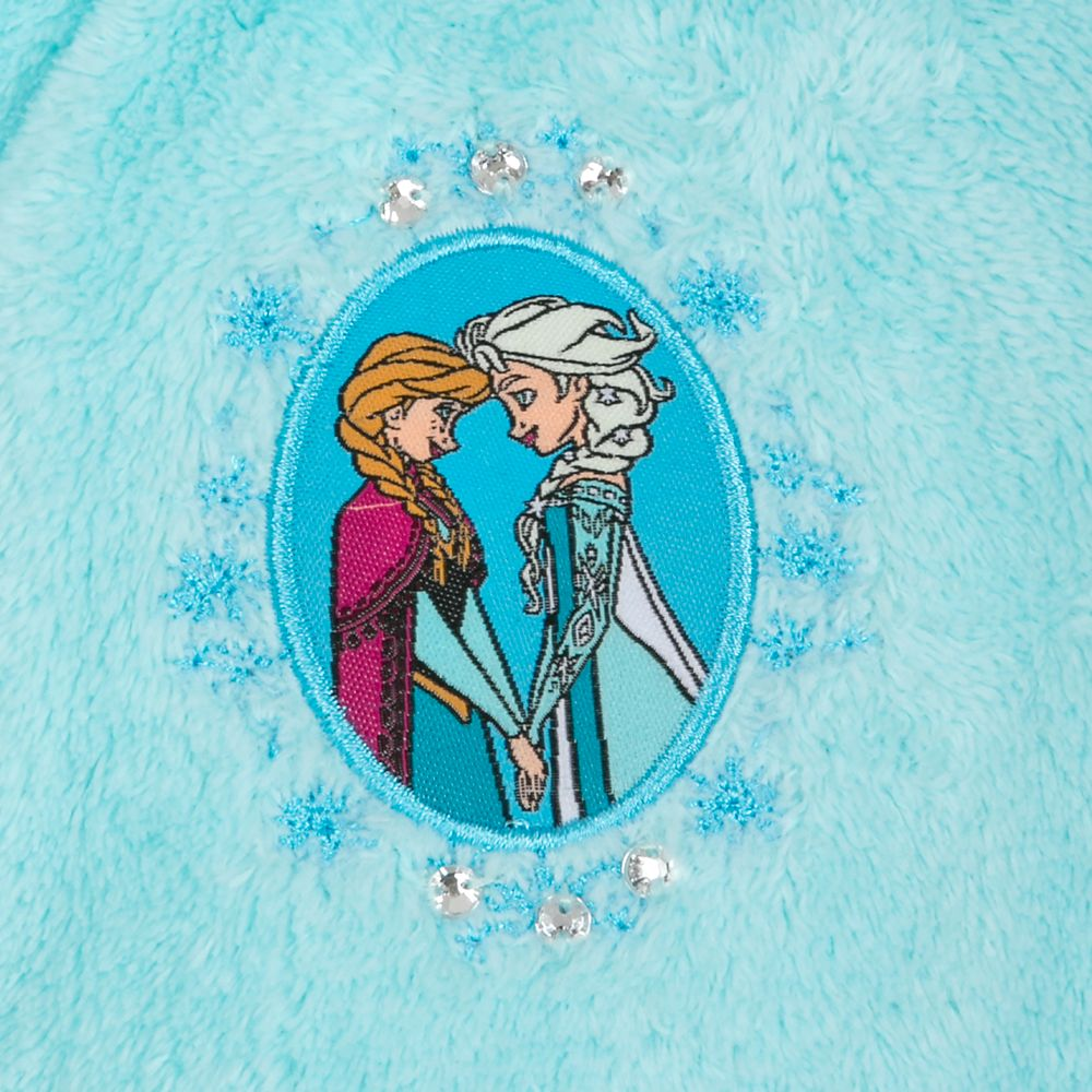 Anna and Elsa Zip Fleece Jacket for Kids – Personalized