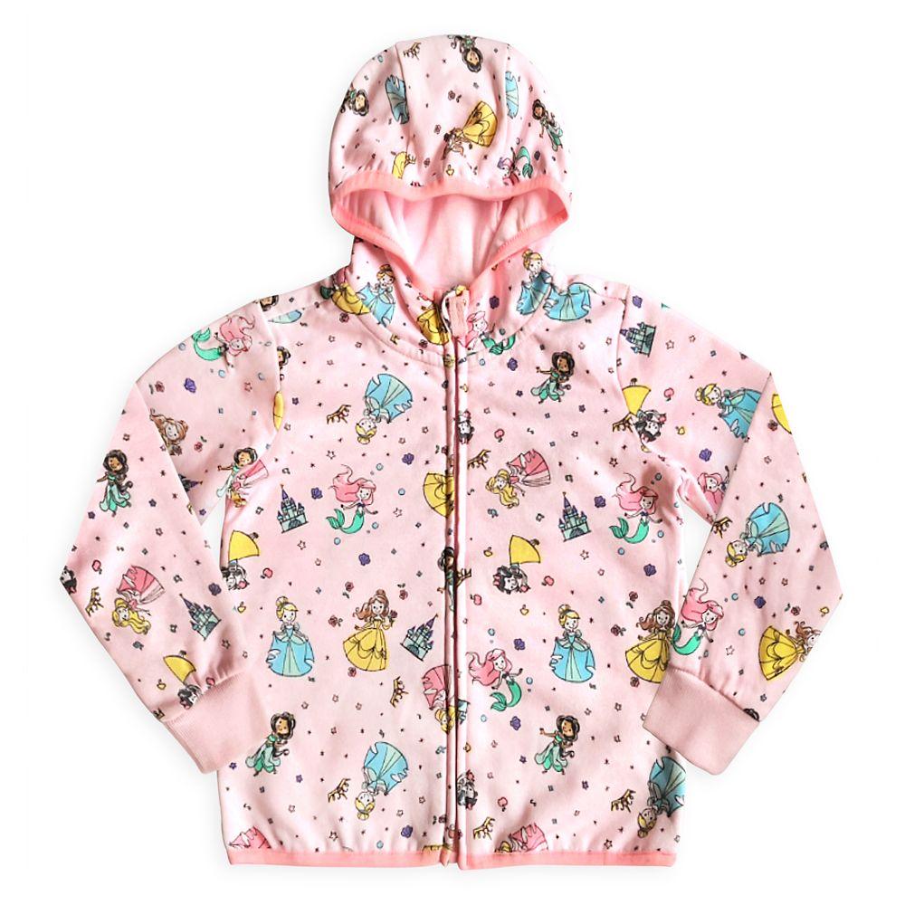 Disney Princess Zip Hoodie for Girls