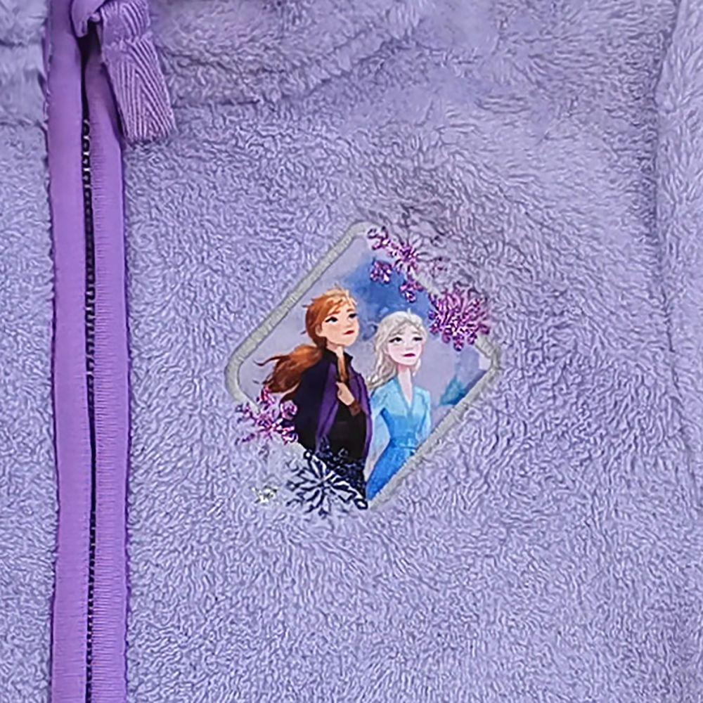Elsa and Anna Zip Fleece Jacket for Kids – Frozen 2