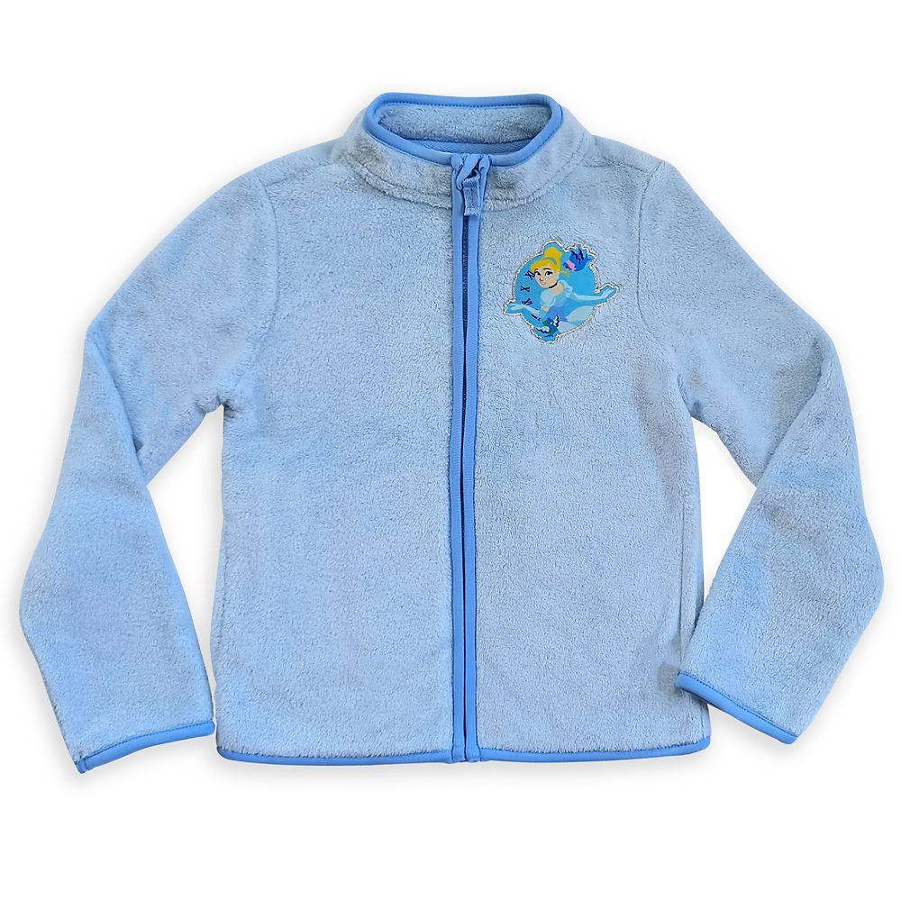Cinderella Zip Fleece Jacket for Kids