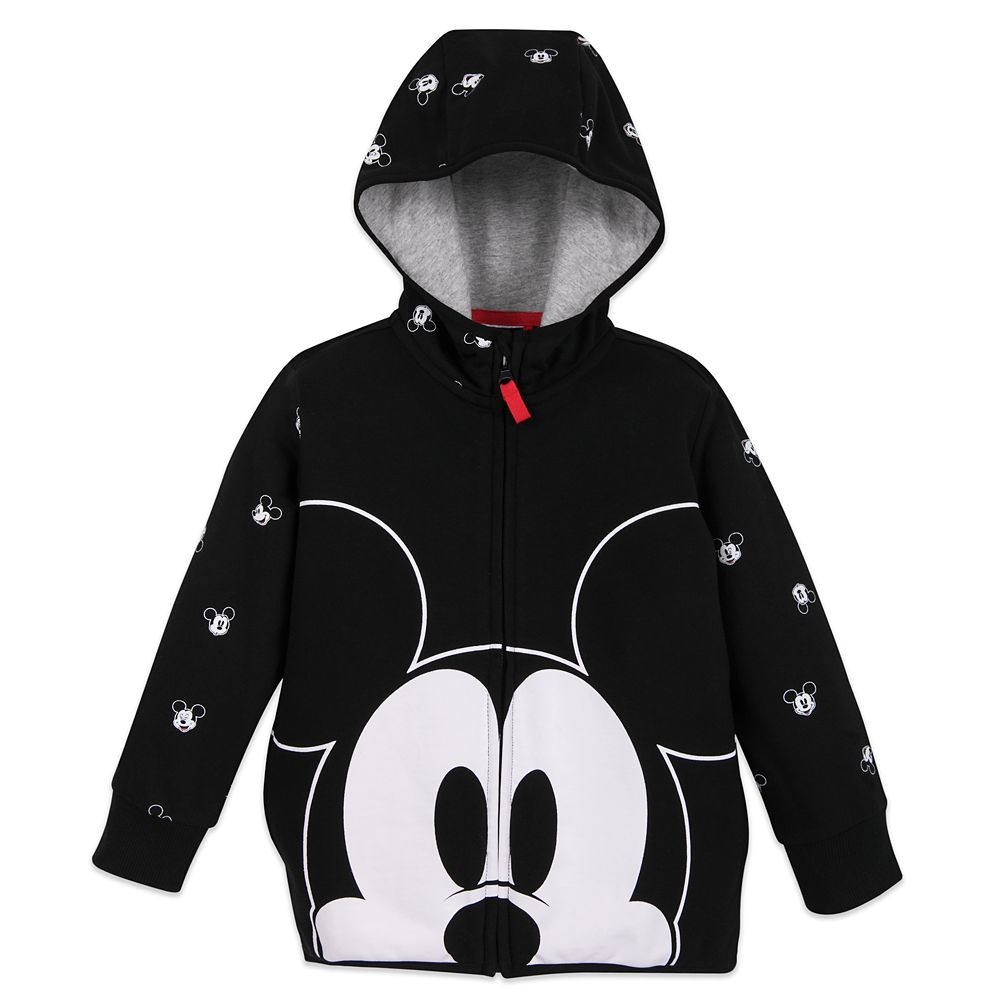 Mickey Mouse Zip-Up Hoodie for Boys