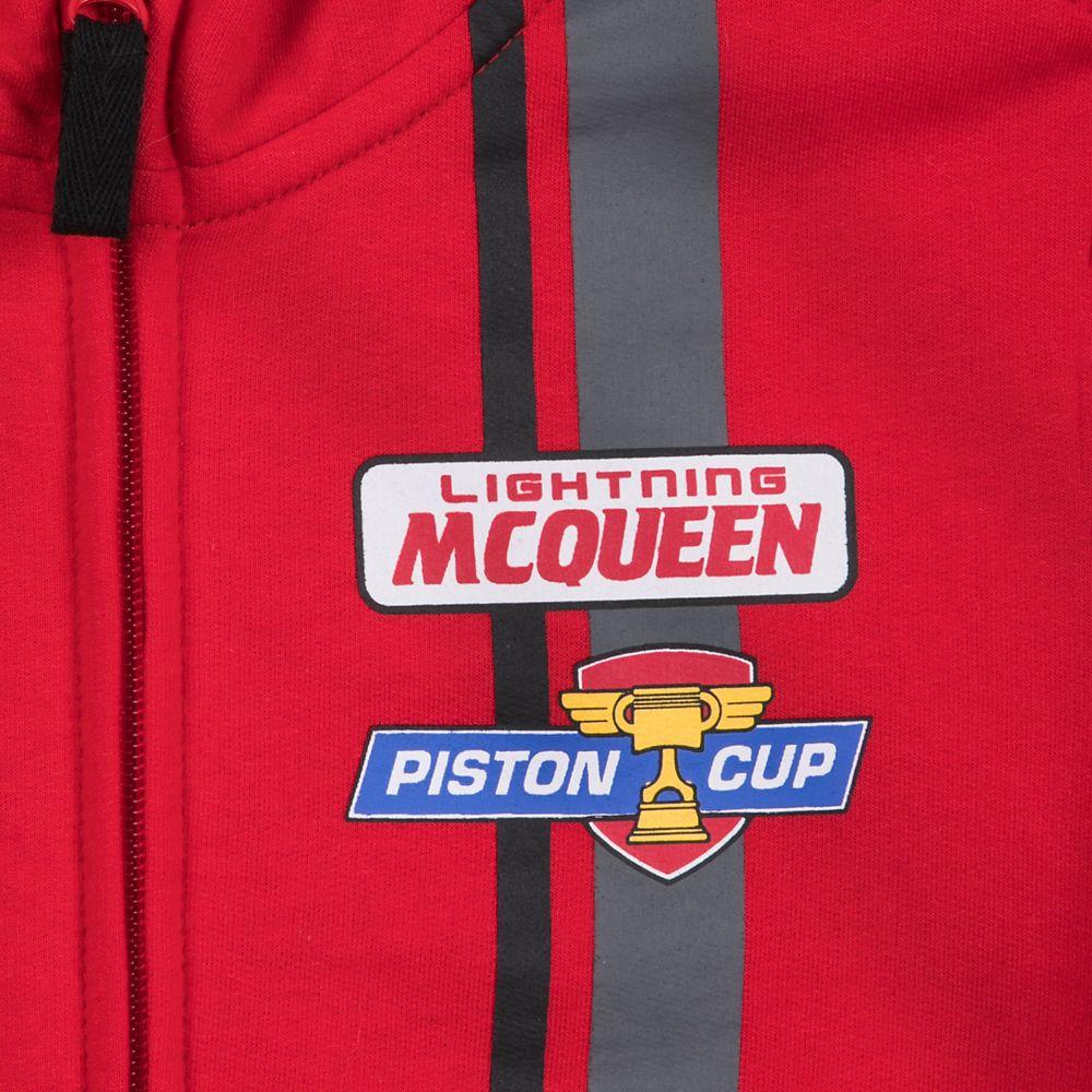 Lightning McQueen Zip-Up Hoodie for Boys