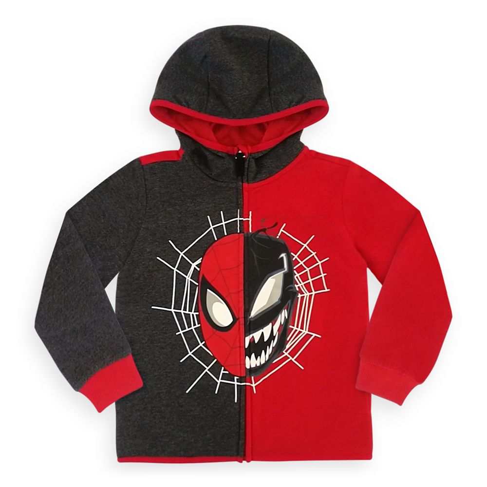Disney Spider-Man and Venom Zip Hoodie for Boys