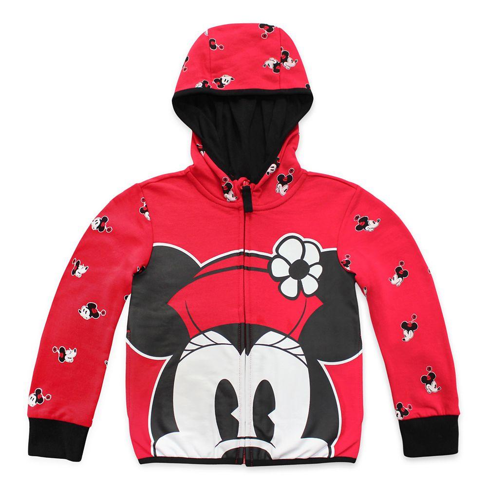 Disney Minnie Mouse Zip Hoodie for Girls