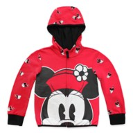 Minnie Mouse Zip Hoodie for Girls