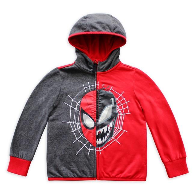 Spider-Man and Venom Zip Hoodie for Kids