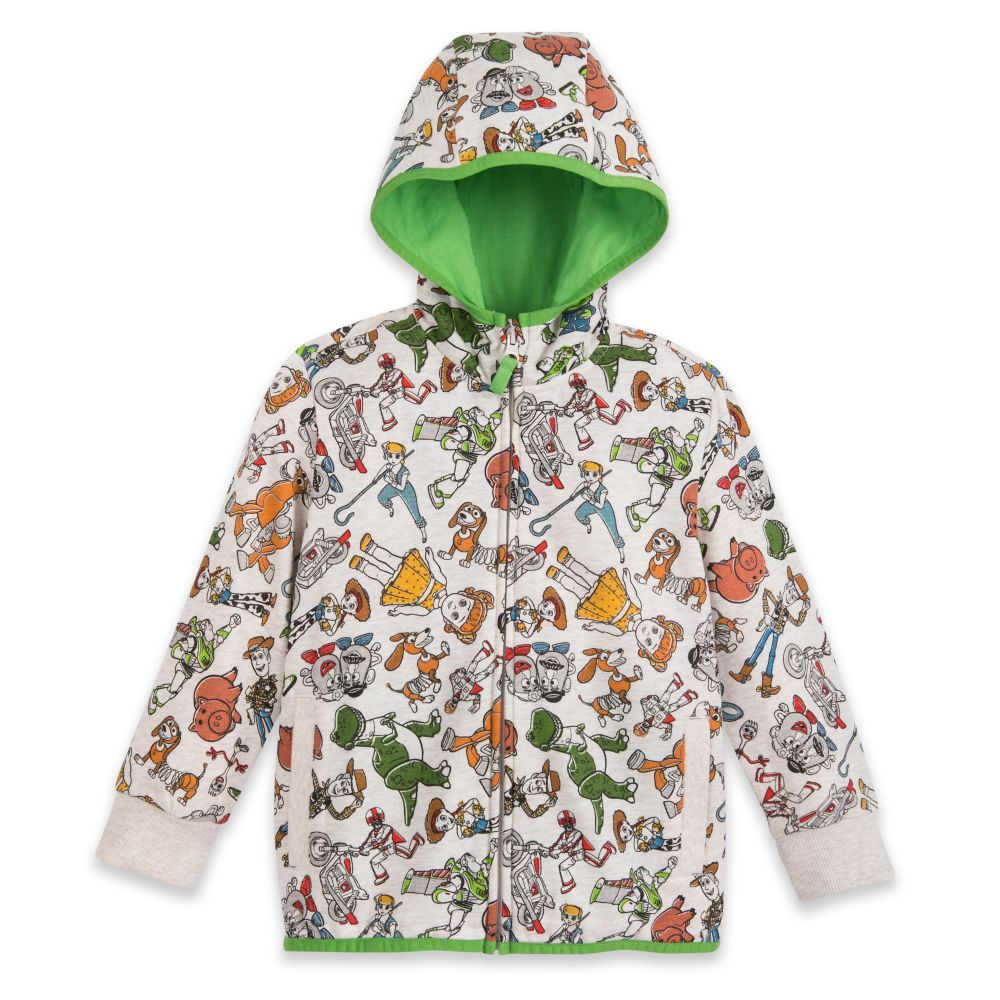 Toy Story 4 Zip-Up Hoodie for Kids – Personalized