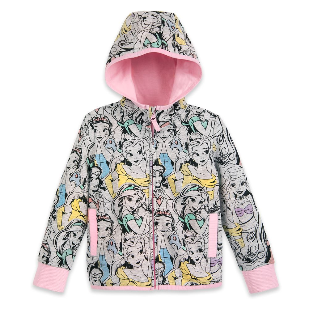Disney Princess Zip-Up Hoodie for Kids