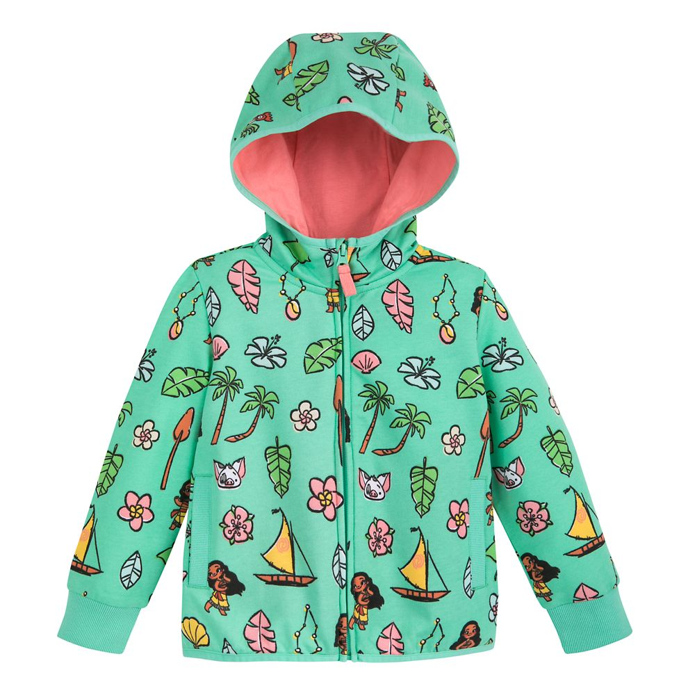 Moana Zip-Up Hoodie for Kids