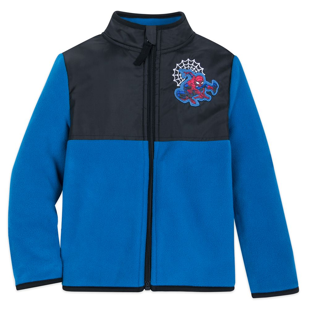 Spider-Man Pieced Fleece Jacket for Kids