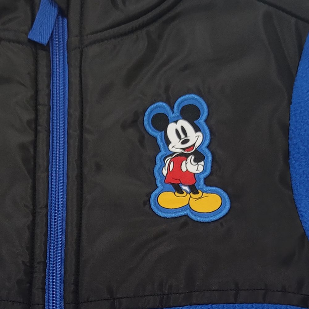 Mickey Mouse Pieced Fleece Jacket for Kids