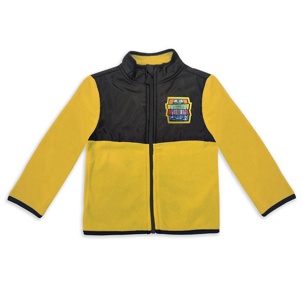R2-D2 Pieced Fleece Jacket for Kids – Star Wars