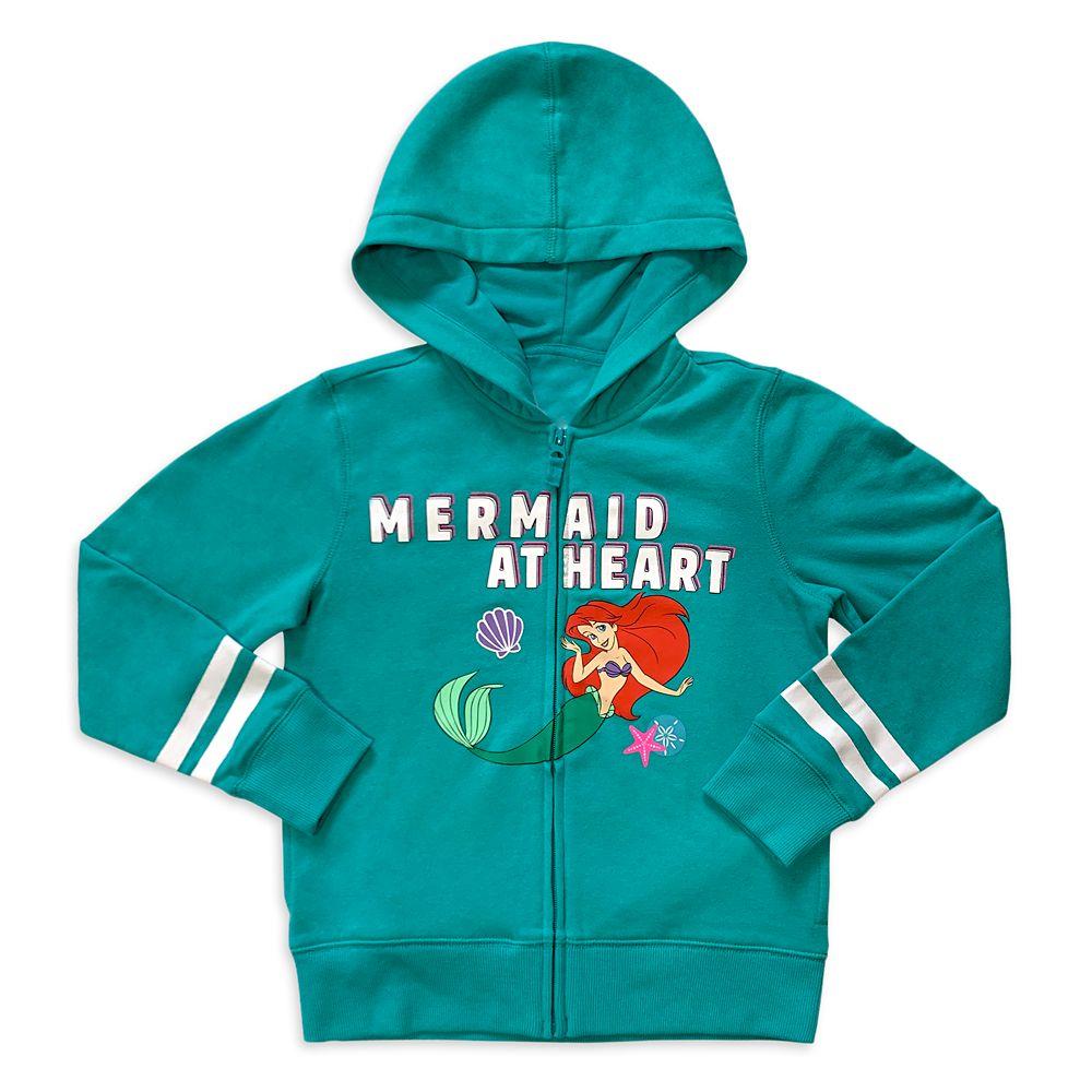 Disney Ariel Zip-Up Hoodie for Kids ? The Little Mermaid
