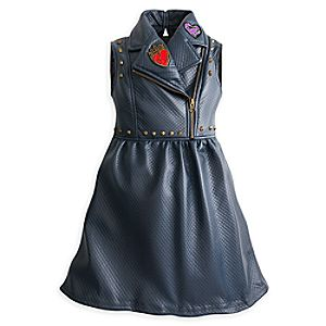 Descendants 2 Faux Leather Dress for Girls