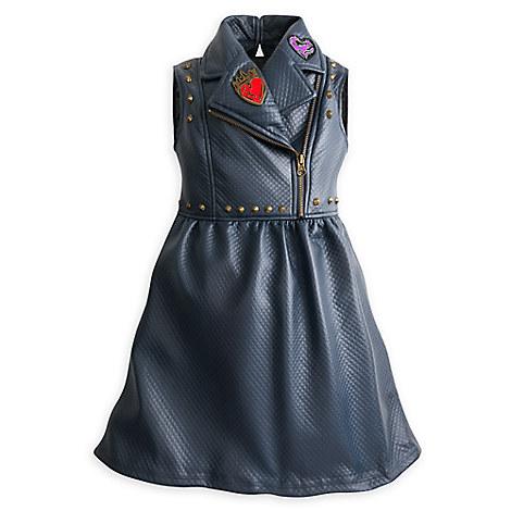Descendants 2 Faux Leather Dress for Girls