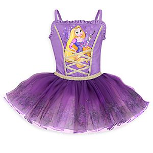 Rapunzel Deluxe Leotard for Girls