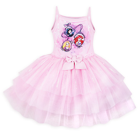 Disney Princess Deluxe Leotard for Girls
