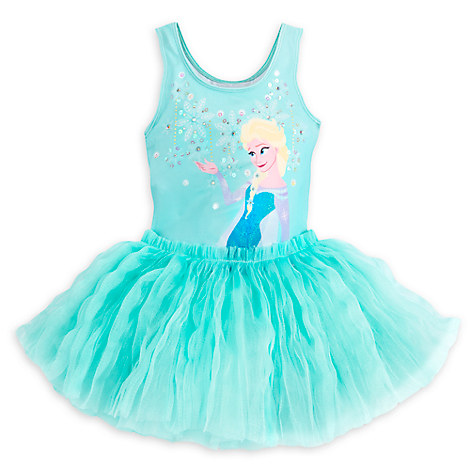 Frozen Deluxe Leotard for Girls