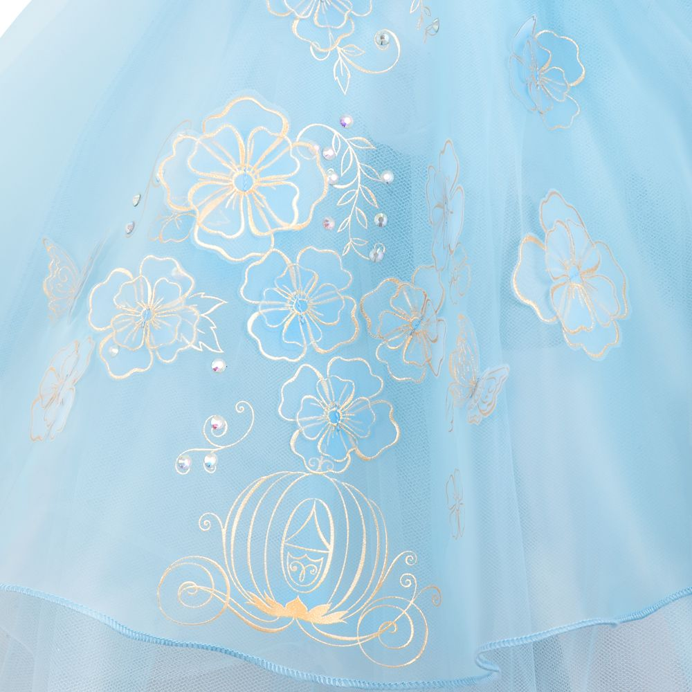 Cinderella Deluxe Leotard for Girls