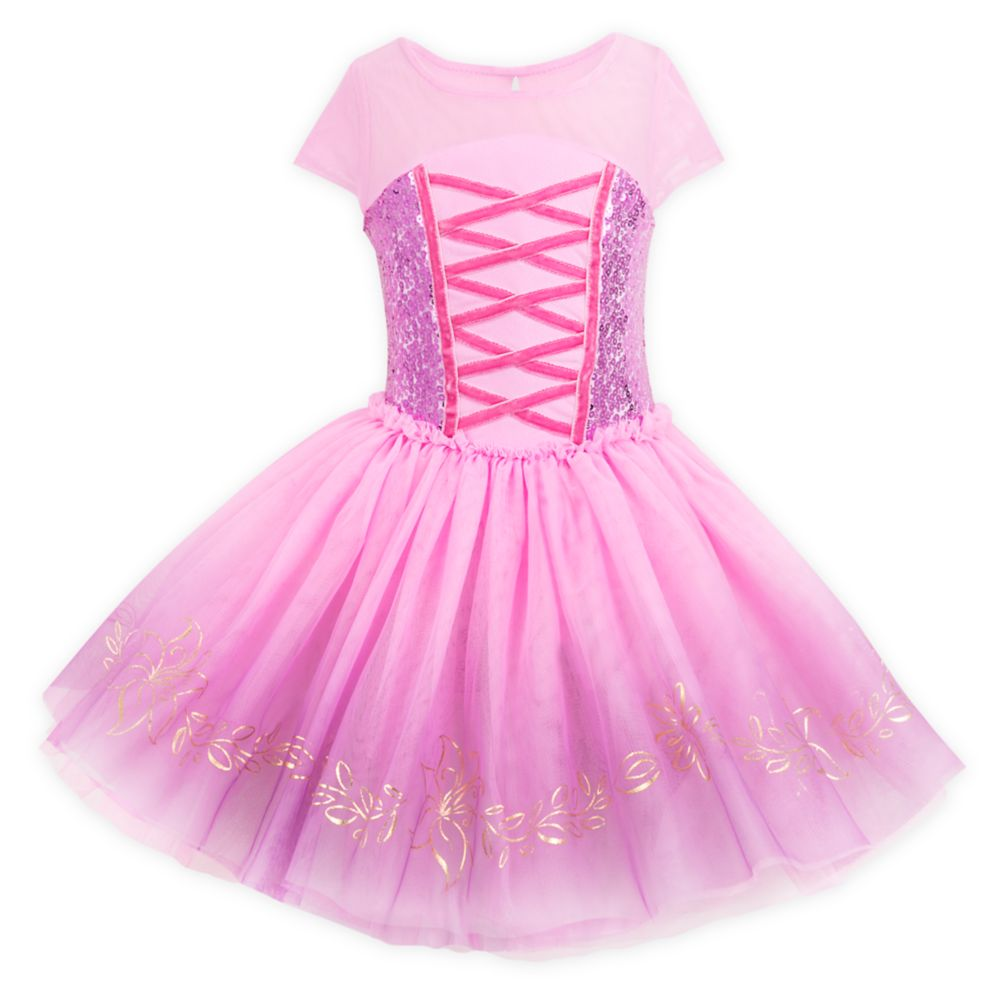 Rapunzel Leotard and Tutu for Girls