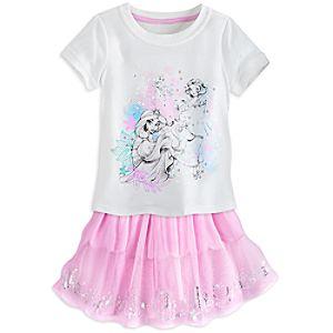 Disney Princess Skirt Set for Kids