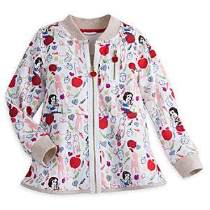 Snow White Fleece Jacket for Girls