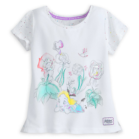 Disney Animators' Collection Alice in Wonderland Top for Girls
