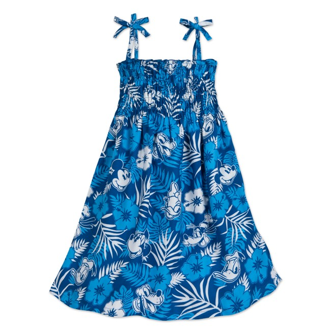 Mickey Mouse and Friends Aloha Dress for Girls – Disney Hawaii