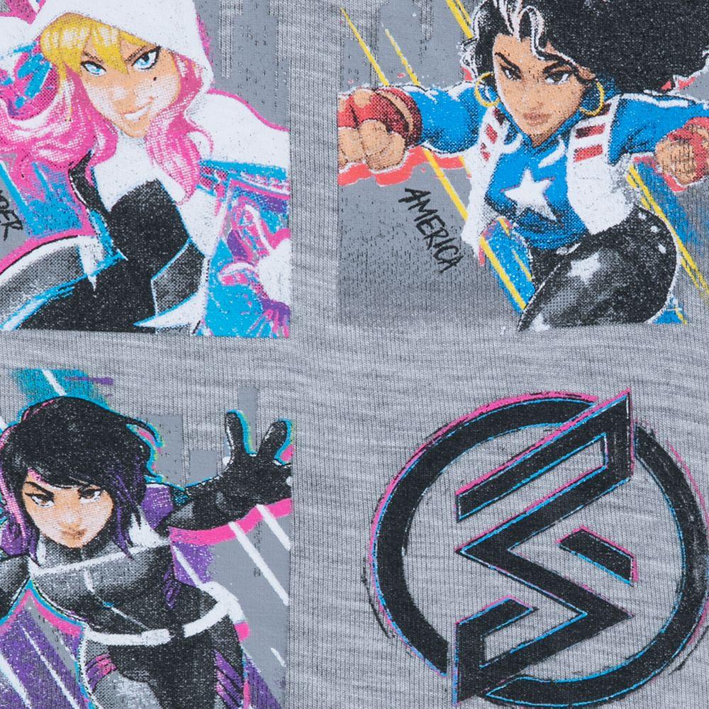 Marvel Rising ''Teen Heroes'' Raglan Top for Girls