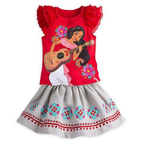 Elena Skirt Set for Girls
